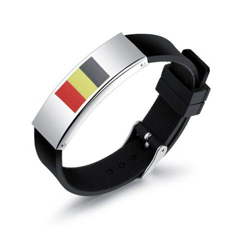 Discount 2018 Russia National Flags Fans Bracelets