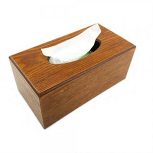 Environment-Friendly Wooden Paper Towel Box -