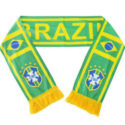 2018 in Brazil in Russia Gifts Souvenirs Scarf -