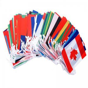 Football Fans 32pcs Hang String Flag -