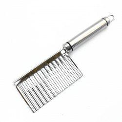 Stainless Steel French Fries Cutter Peeler Chip DIY Fry Potato Blade -