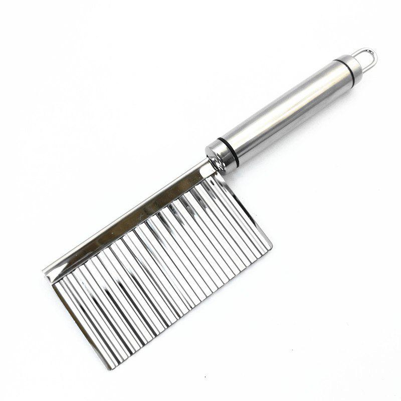 Fashion Stainless Steel French Fries Cutter Peeler Chip DIY Fry Potato Blade