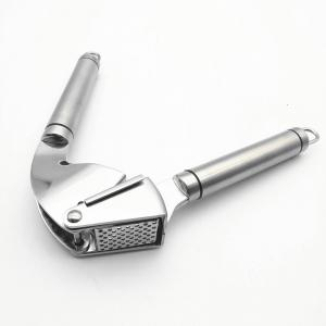 Stainless Steel Kitchen Garlic Press -
