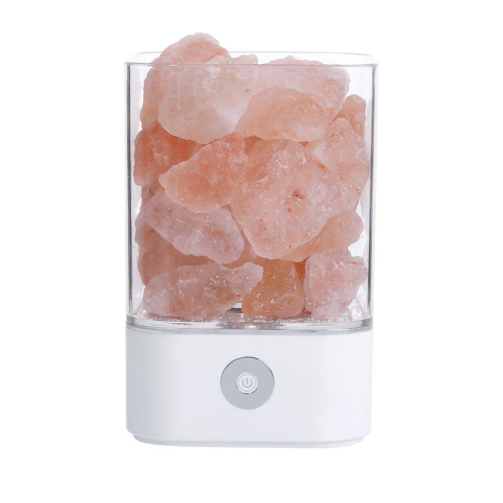 Latest Himalayan Crystal Salt Lamp Natural Anion Simple Health Gift