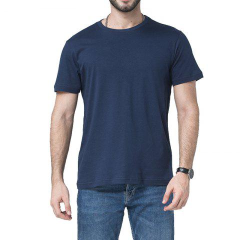 Sale Men Soild Short Sleeve Basic T-shirt