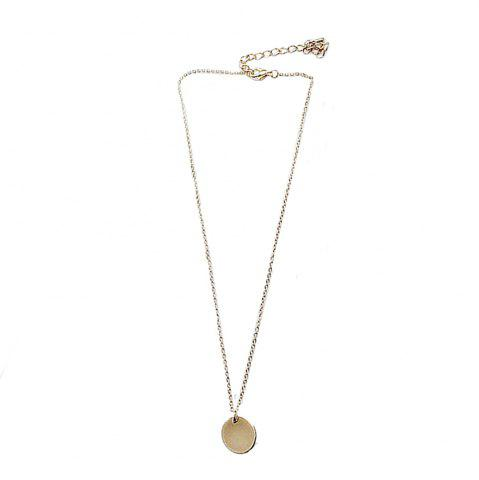 Best Simple Fashion Small Round Shape Fine Chain Temperament Clavicle Necklace