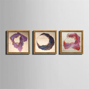 Special Design Frame Paintings Lines Print 3PCS -