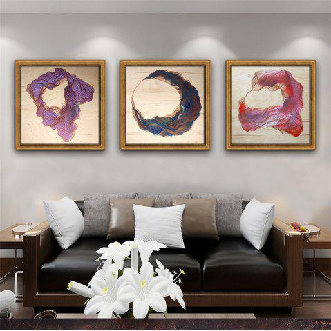 Discount Special Design Frame Paintings Lines Print 3PCS