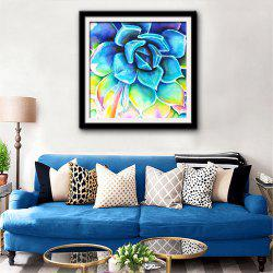 Special Design Frame Paintings Echeveria Print -