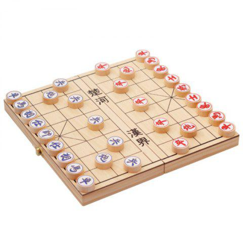 Wooden Folding Chinese Chess Classic Puzzle Toy