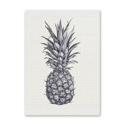 W196 Pineapple Unframed Wall Art Canvas Prints for Home Decoration -