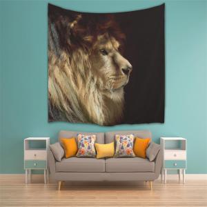 Lion 3D Printing Home Wall Hanging Tapestry for Decoration -