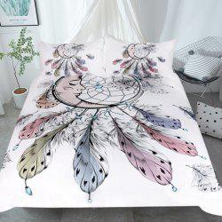 Moon Dreamcatcher Bedding  Duvet Cover Set Digital Print 3pcs -