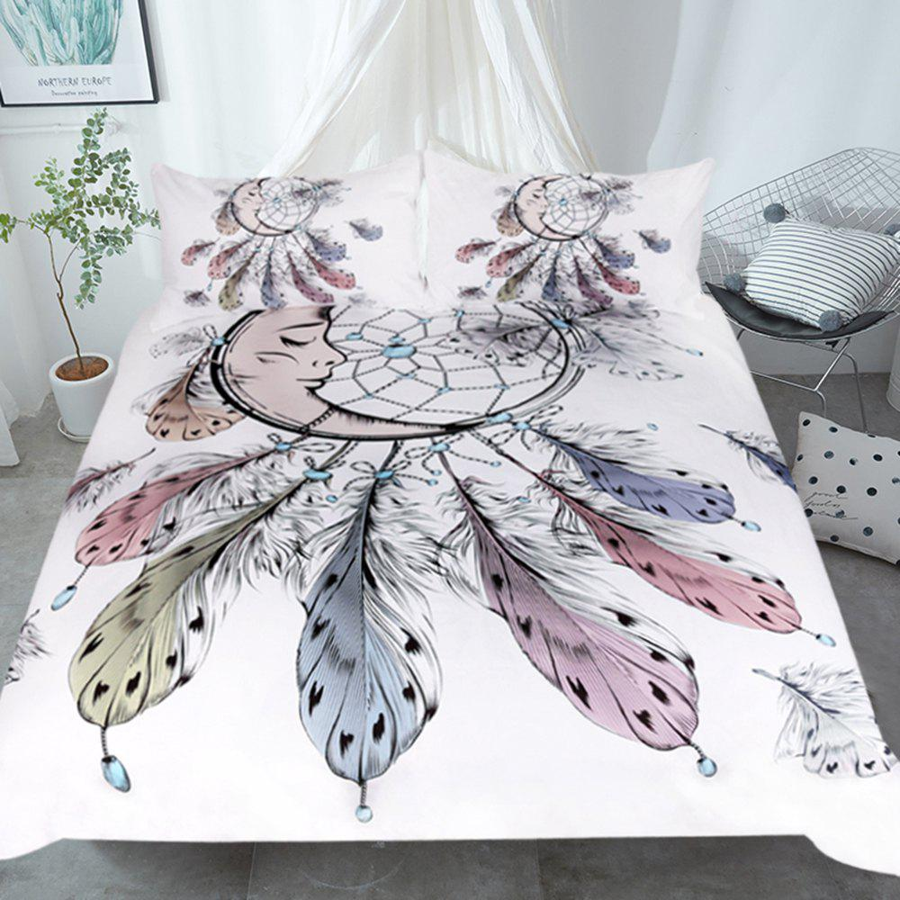 New Moon Dreamcatcher Bedding  Duvet Cover Set Digital Print 3pcs