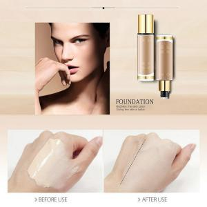 O.TWO.O New Liquid Foundation Make Up Concealer Whitening Moisturizer Oil-control Waterproof Liquid Foundation Face, 8 Color -