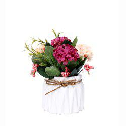XH-PZ0032 European Rose Plant Potted Plant -
