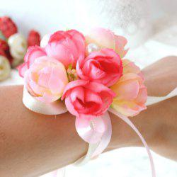 Wrist  Family Silk Hand Decorative Flower -