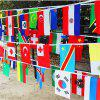 32 Flagpole Fans Decorated Bar Hanging Flag -