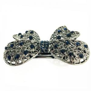 New Popular Hair Ornament Butterfly with Gold Diamond Hair Clip -