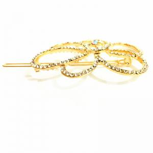 New Korean Fashion Headwear Fashion High-Grade Diamond Peacock Hair Clip -