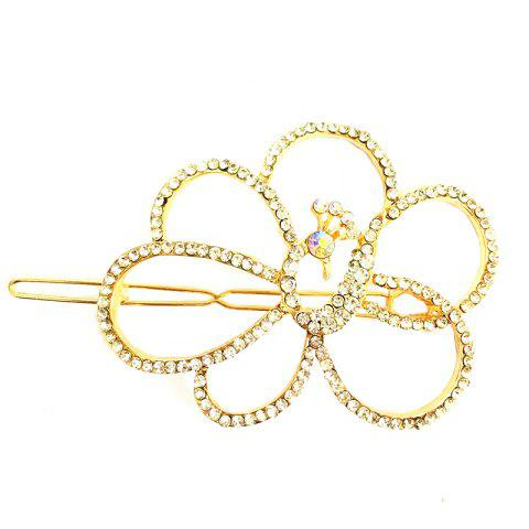 Best New Korean Fashion Headwear Fashion High-Grade Diamond Peacock Hair Clip