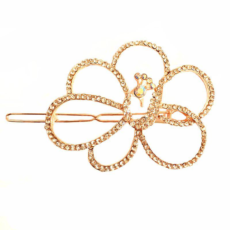 Nouveau coréen Fashion Headwear Fashion haute qualité Diamond Peacock Hair Clip