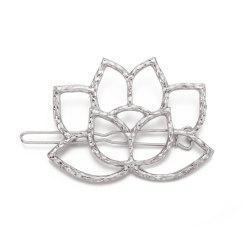 Fashion Vintage Hairpin Heart Lotus Shape -