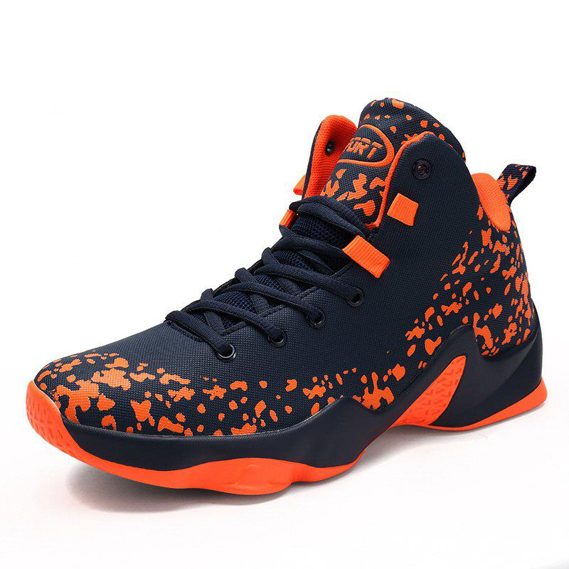 Unique Men Breathable Basketball Shoes Jogging Athletic Walking Sneakers