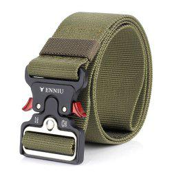 ENNIU Cow Shaped Nylon Weaving Tactical Military Belt -