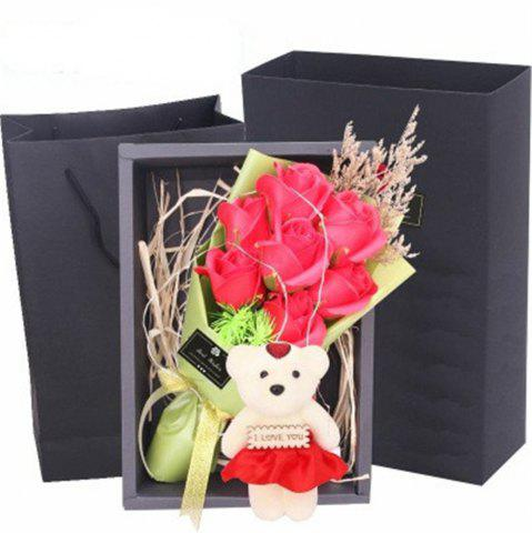 Affordable Scented Unique Bouquet Rose Flower Gift Box Mother's Day