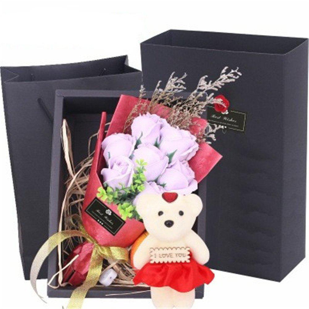 Unique Scented Unique Bouquet Rose Flower Gift Box Mother's Day