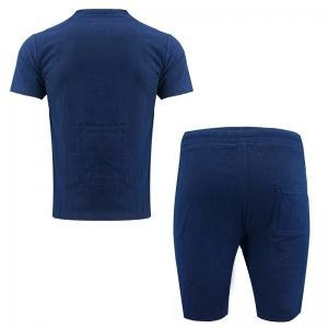 Men's Fashion Suit Casual Short Sleeve Two-piece -
