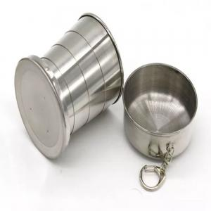 Stainless Steel Portable Telescopic Cup -