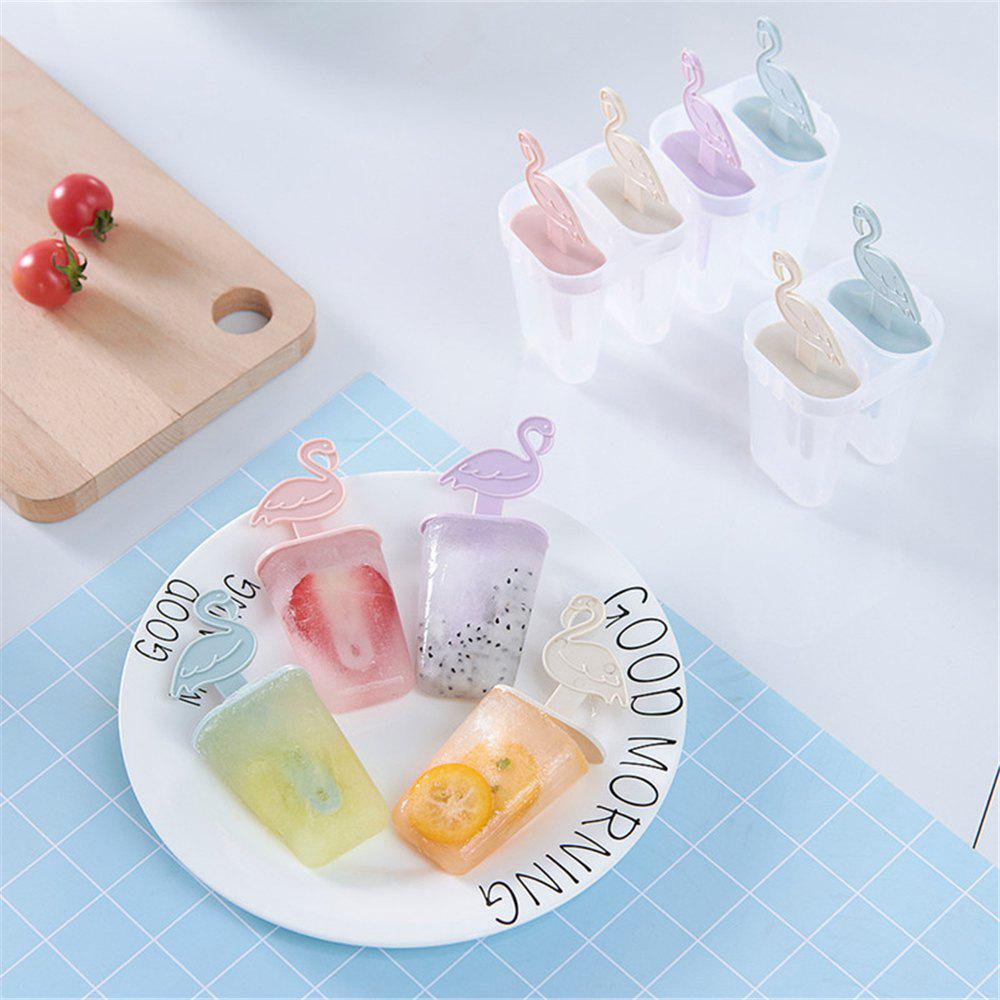 4PCS Cartoon DIY Ice Cream Mold Popsicle Mould 264381001