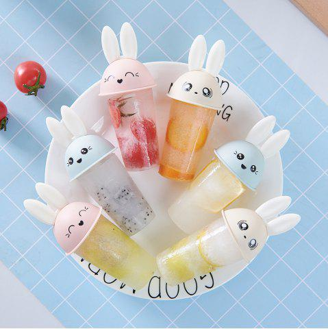 6PCS Lovely Rabbit DIY Ice Cream Mold Popsicle Mould