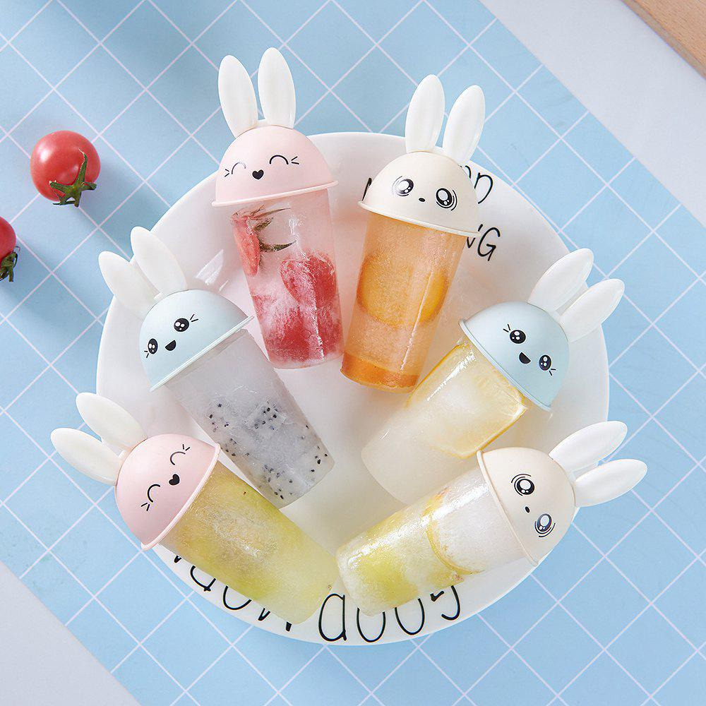 6PCS Lovely Rabbit DIY Ice Cream Mold Popsicle Mould 264381101