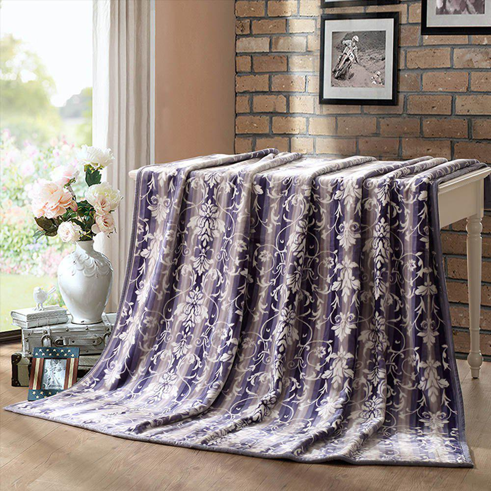 Shops LOVO  Double Layers Super Soft and Durable Polyester Flannel Blanket 180X200CM