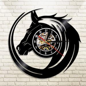 Vinyl Wall Clock Art Gifts Home Decoration -