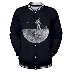2018 Nouvelle veste Moonwalk 3D Baseball -