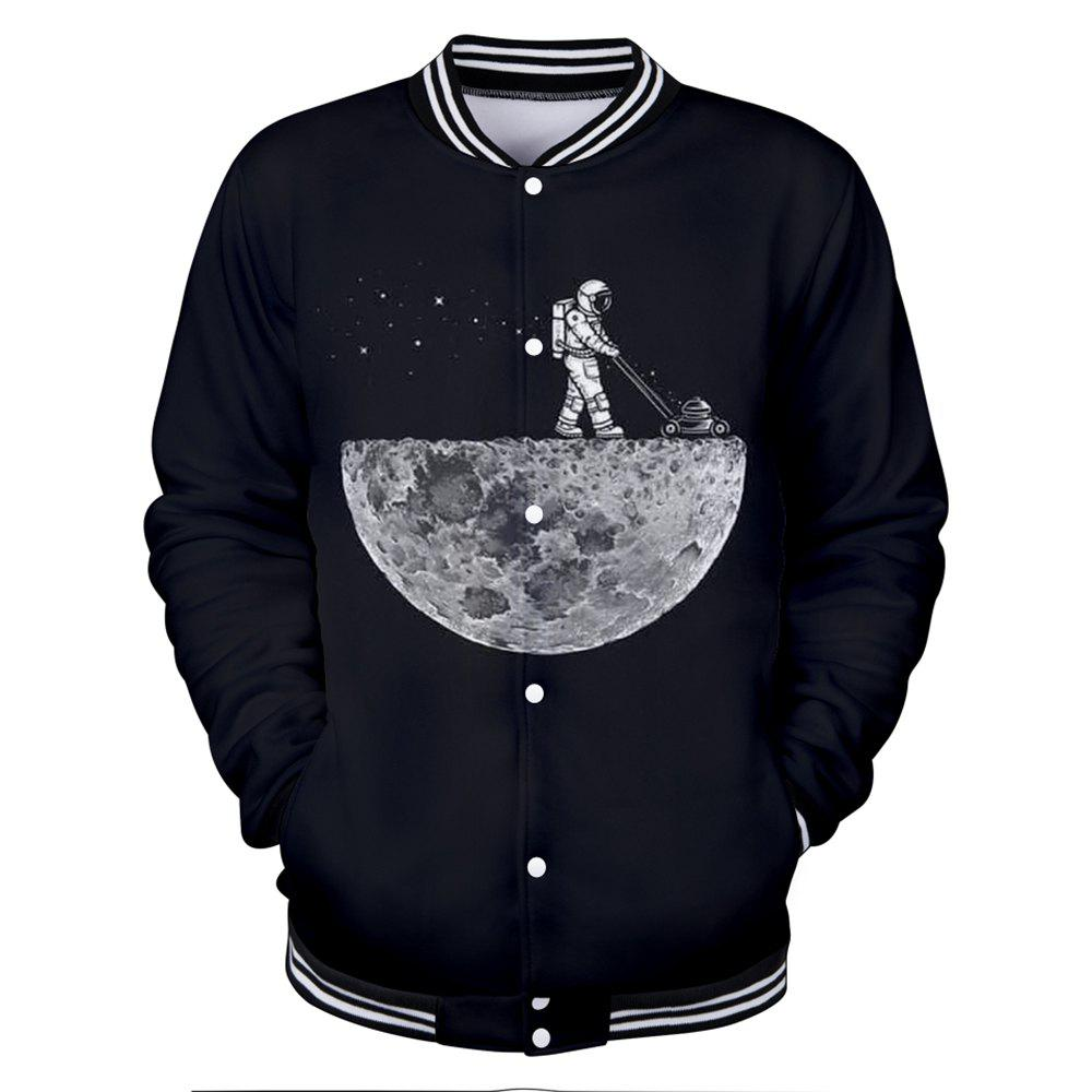 2018 Nouvelle veste Moonwalk 3D Baseball