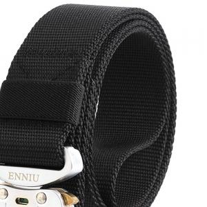 ENNIU Nylon Multifunctional Aluminum Tactical Military Belt -