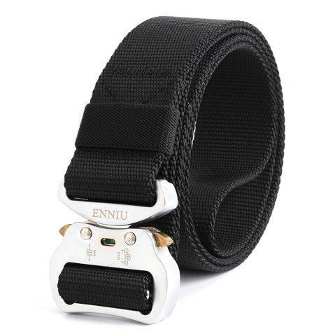 Chic ENNIU Nylon Multifunctional Aluminum Tactical Military Belt