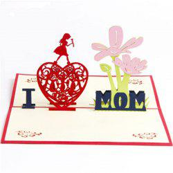 Handmade Mother's Day Card -