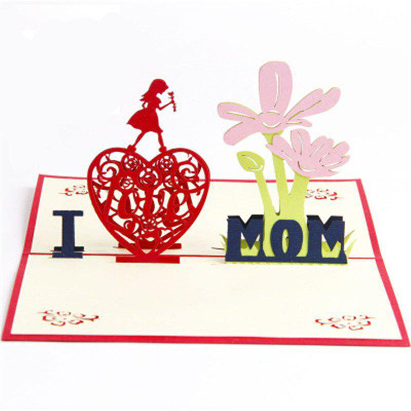 Fancy Handmade Mother's Day Card