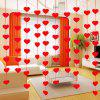 Творческий DIY Non-woven Flower Door Pull Curtain -
