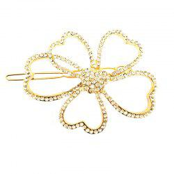 The New Popular High-End Diamond Ornaments Fashion Wild Butterfly Hair Clip -