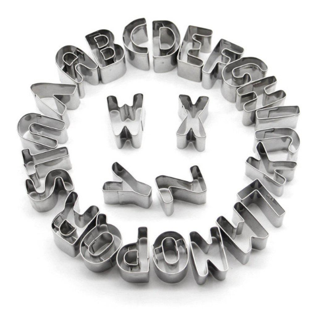 26 Letters Stainless Steel Cookie Cutter