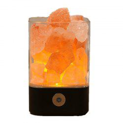 M4 Himalayan 7 Colorful Night Light lampe de cristal de sel ionique naturel -