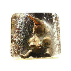 Happy Little Elephant Super Soft Non-Slip Bath Door Mat Machine Washable -