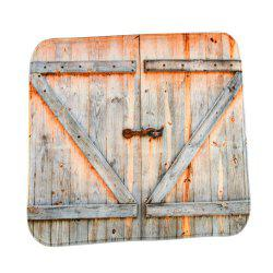 The Old Wooden Door Super Soft Non-Slip Bath Door Mat Machine Washable -